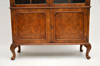 Antique Burr Walnut  Bookcase (4 of 9)