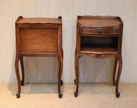 Pair of French Oak Bedside Cabinets (8 of 10)