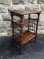 Antique Oak Table by Liberty