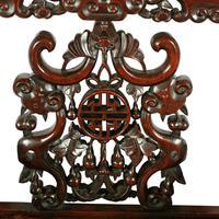 Qing Dynasty Hongmu Throne Chairs (7 of 8)