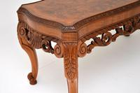 Antique Burr Walnut Coffee Table (6 of 9)