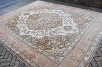 Fine Antique Tabriz Roomsized Carpet 382x285cm (4 of 9)