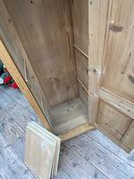 Fabulous Old Stripped Pine Pine Cupboard / Cabinet/ Wardrobe (10 of 11)