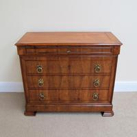Cherry Wood Chest of Drawers c.1850 (3 of 8)