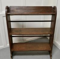 Another Open Front Oak Bookcase (2 of 4)