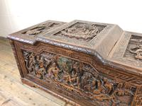 Early 20th Century Carved Camphor Trunk (9 of 14)