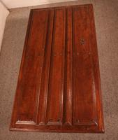 Coffee Table Made With An Old 17th Century Spanish Door In Chestnut (2 of 9)