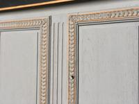 French 2 Door Painted Cabinet (7 of 11)