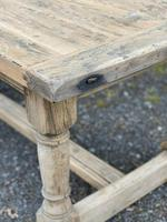 Rustic Bleached Oak French Farmhouse Dining Table (6 of 34)
