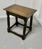 Another 19th Century Oak Joint Stool (2 of 6)