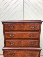 Antique Burr Walnut Chest on Chest (5 of 10)