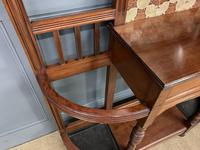 Large Victorian Walnut Hall Stand by James Shoolbred and Co. (11 of 17)