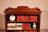 Open Bookcase in Mahogany 19th Century - England (5 of 9)