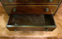 Fine Miniature Mahogany Chest of Drawers (2 of 4)