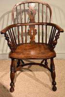 Ash & Elm Low Back Windsor Armchairs (8 of 9)