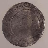 Elizabeth I, Silver Six Pence, Dated 1567 (2 of 2)