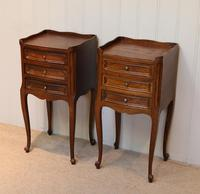 Pair of French Oak Bedside Cabinets (4 of 9)