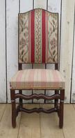 Set of Six French Oak Dining Chairs (7 of 9)