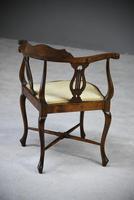 Edwardian Corner Chair (8 of 13)