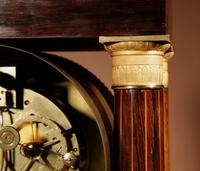A Very Stylish Charles X Rosewood/Palisandre Inlaid With Lemon Wood and Ormolu Portico Clock Circa: 1830 (3 of 15)