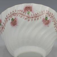 Pretty Chamberlain Worcester Porcelain Tea Bowl & Saucer c.1795 (9 of 9)