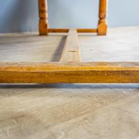"""""""h"""" Stretcher Pine Kitchen Table (8 of 8)"""