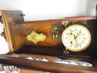 Wow! Antique German Spring Driven Striking 8-day Vienna Wall Clock by Gustav Becker (10 of 13)