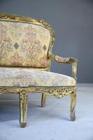 Louis XV Style Gilt Sofa (4 of 12)