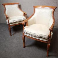 Pair of French Empire Style Armchairs (8 of 13)