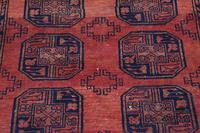"""Vintage / Retro Wool Rug Roughly 6'8"""" x 4'4"""" (2 of 7)"""