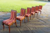 Antique French Regency Jeanselme Rosewood Dining Chairs (4 of 11)