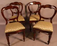 Set of 12 Victorian Mahogany Balloon Back Dining Chairs (4 of 10)