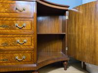 Reproduction Painted Satinwood Sideboard (4 of 12)