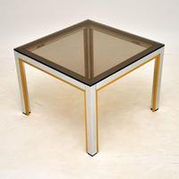 Italian Vintage Chrome Side Table by Zevi (5 of 7)