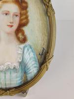 Ivory Miniature of a Lady (3 of 7)