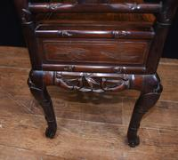 Antique Chinese Stool Hand Carved Piano Circa 1880 (8 of 10)