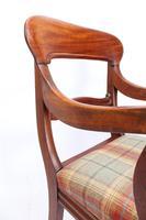 Victorian Mahogany Desk Chair / Open Armchair (10 of 13)