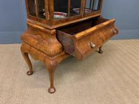 Burr Walnut Dome Topped Display Cabinet (15 of 21)