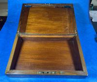Victorian  Walnut Writing Slope with Secret Drawers (17 of 17)