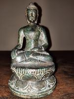 16th Century Northern Thai ( Lan Na Kingdom) Bronze Buddha.