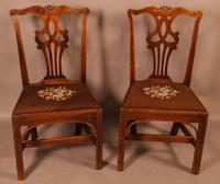 Set of 6 Country Chippendale Dining Chairs (5 of 11)