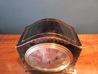 Small Edwardian Chinioserie Mantel Clock (5 of 8)