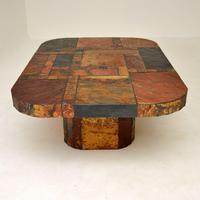 Large Swedish Stone Vintage Coffee Table (11 of 11)