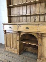 Large Victorian Antique Pine Dresser (5 of 17)