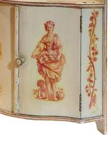 A Painted French Corner Cabinet c1900 (5 of 5)