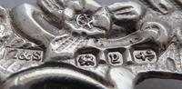 Victorian Maternity 1898 Hallmarked Solid Silver Nurses Belt Buckle (6 of 8)