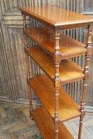 Antique Walnut Whatnot/ Shelves (2 of 6)