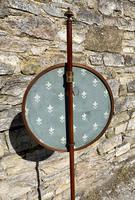 Regency Rosewood Beaded Pole Screen (12 of 18)