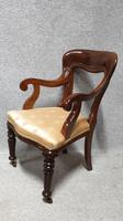 Outstanding Set Eight Mahogany Dining Chairs (9 of 9)