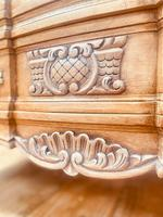 French Style Drawers / Vintage Rococo Drawers (7 of 9)